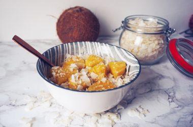 Piña-Colada-havermout-ontbijtje