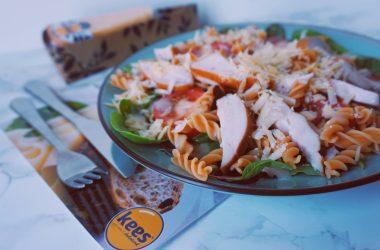 Caesar salade recept glutenvrij lactosevrij-gezond-fitnesswithasmile