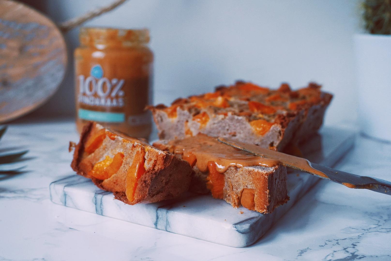 Abrikozen vanille kwarkbrood fitnesswithasmile