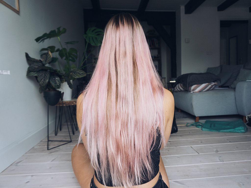 L'oréal Colorista Washout -achterzijde na-fitnesswithasmile