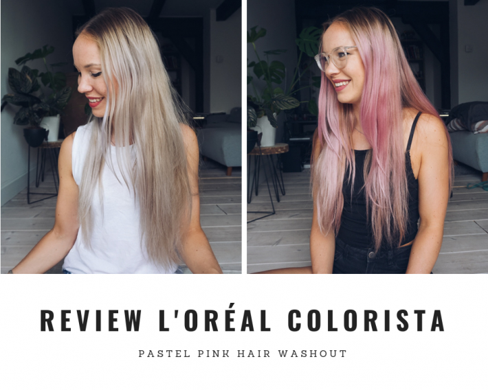 L'oréal Colorista Washout -review-fitnesswithasmile
