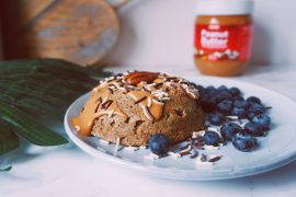 Super gezonde mugcake - fitnesswithasmile