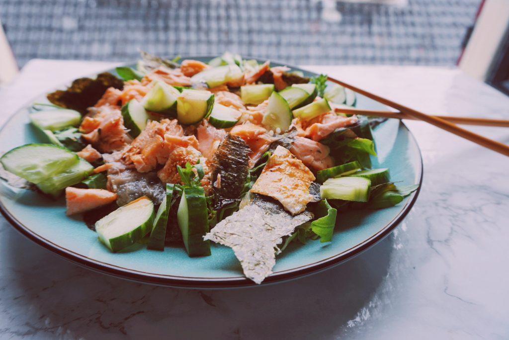 Sushi salade gezond eiwitrijk recept fitnesswithasmile