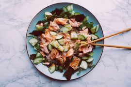 Sushi salade recept fitnesswithasmile