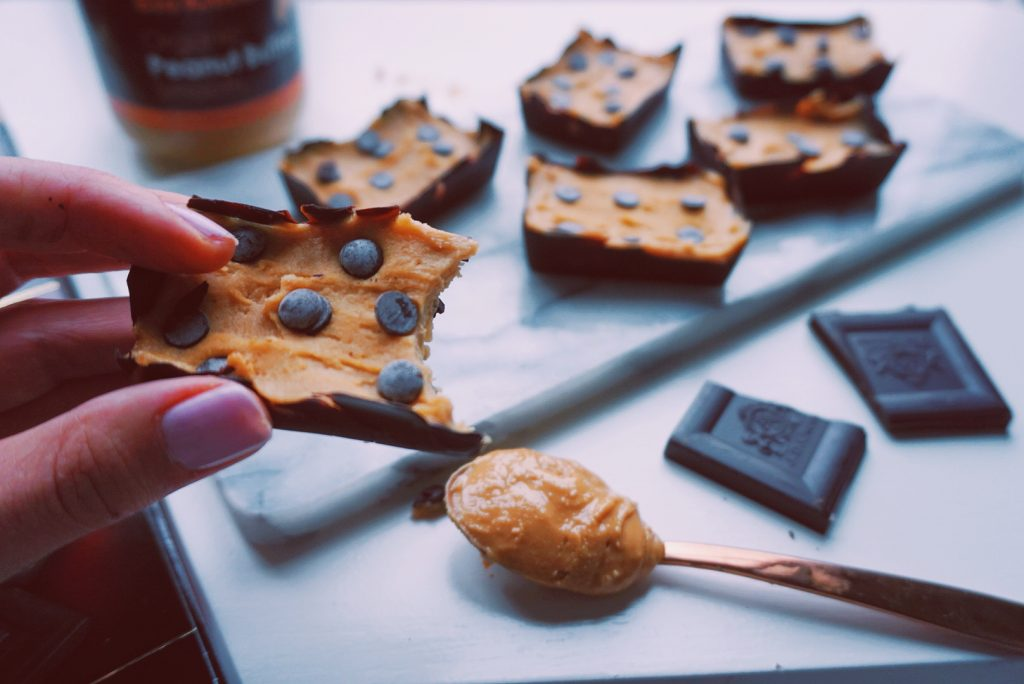 Healthy peanutbutter cups bite fitnesswithasmile