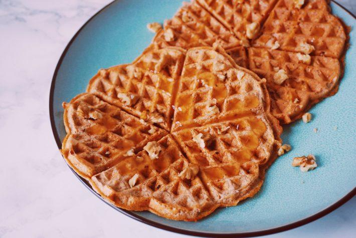Carrotcake wafels ontbijt fitnesswithasmile