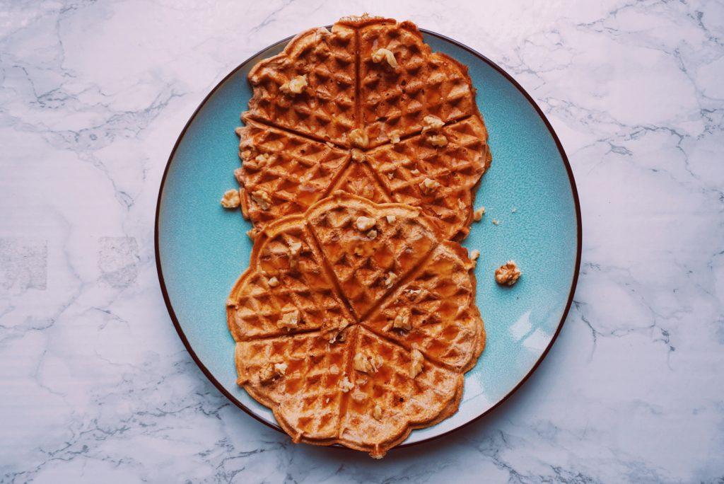 Carrotcake wafels ontbijt gezond fitnesswithasmile