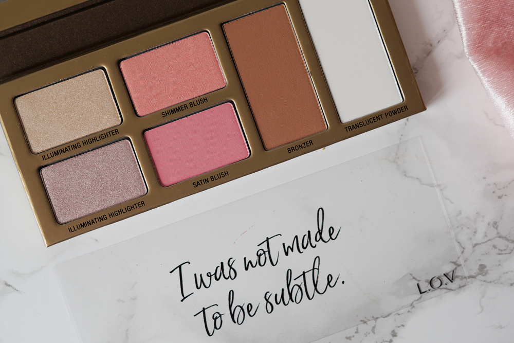 L.O.V. face palette review fitnesswithasmile overview