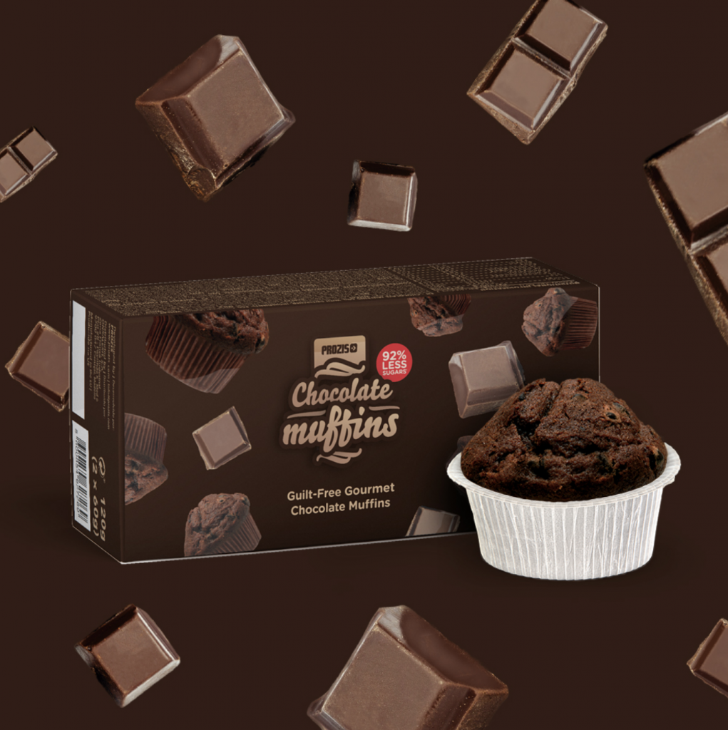 Favoriete Prozis product van Fitnesswithasmile chocolade muffins