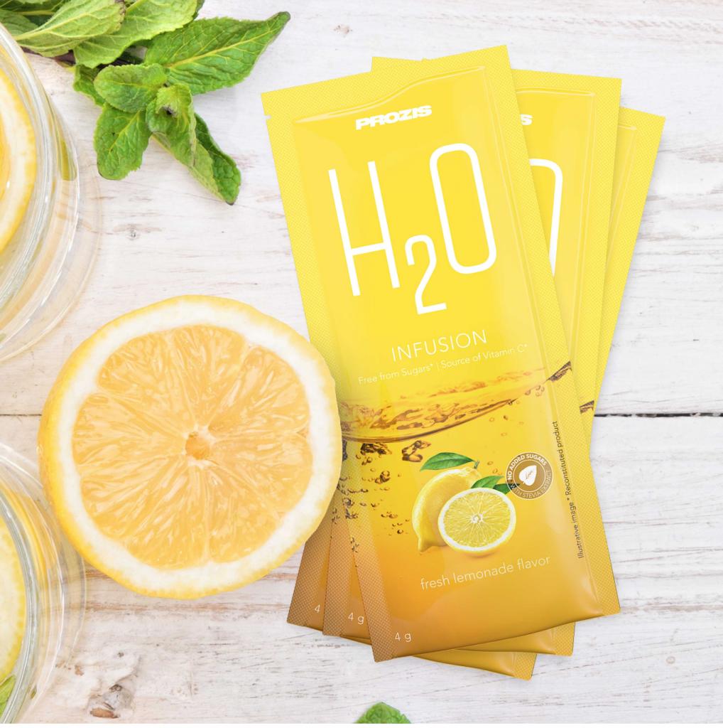 Favoriete Prozis product van Fitnesswithasmile zakje h2o limonade