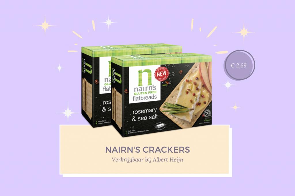 Nairn's glutenvrije crackers favoriete glutenvrije producten fitnesswithasmile