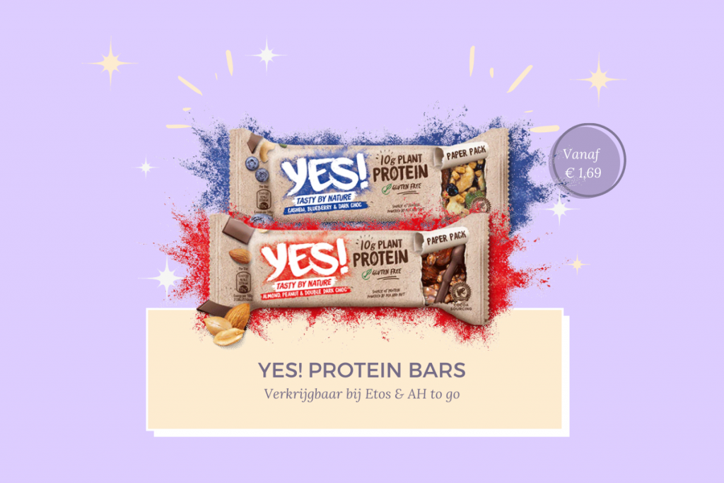 Favoriete glutenvrije proteïne repen YES