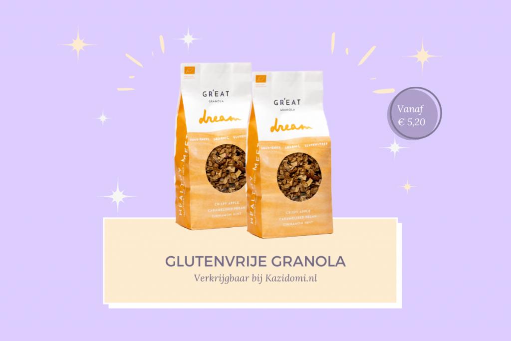 Gr'eat Glutenvrije granola kazidomi